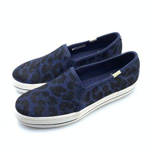 Keds x Kate Spade Calf Hair Leopard Sneakers